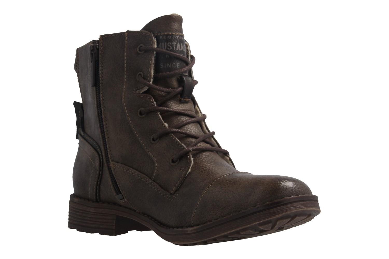 Mustang Shoes Boots in Übergrößen Braun 1265-601-306 große Damenschuhe – Bild 5