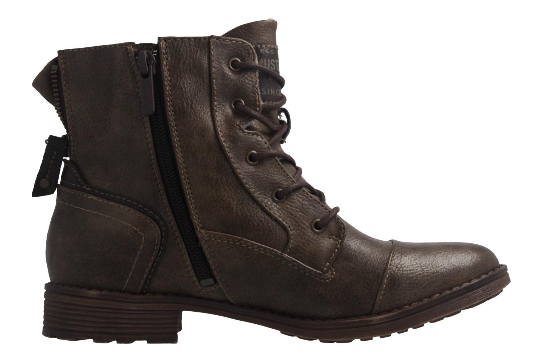 MUSTANG - Damen Boots - Braun Schuhe in Übergrößen – Bild 4