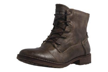 Mustang Shoes Boots in Übergrößen Braun 1265-601-306 große Damenschuhe – Bild 1