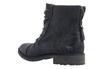 Mustang Shoes Boots in Übergrößen Blau 1265-502-820 große Damenschuhe – Bild 2