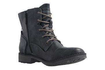 MUSTANG - Damen Boots - Blau Schuhe in Übergrößen – Bild 5