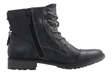 MUSTANG - Damen Boots - Blau Schuhe in Übergrößen – Bild 4
