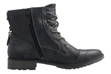 Mustang Shoes Boots in Übergrößen Blau 1265-502-820 große Damenschuhe – Bild 4