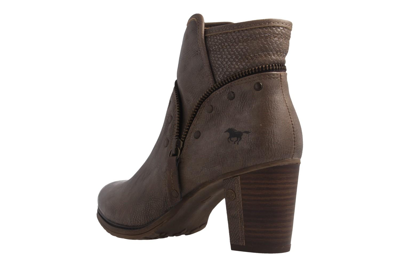 Mustang Shoes Stiefeletten in Übergrößen Beige 1199-518-318 große Damenschuhe – Bild 2