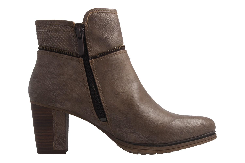 MUSTANG - Damen Stiefeletten - Taupe Schuhe in Übergrößen – Bild 4