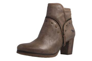 MUSTANG - Damen Stiefeletten - Taupe Schuhe in Übergrößen – Bild 1