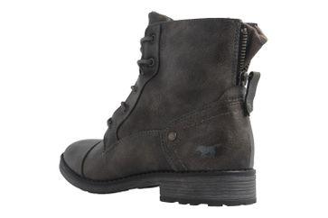 Mustang Shoes Boots in Übergrößen Grau 1265-601-20 große Damenschuhe – Bild 2