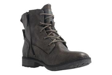 MUSTANG - Damen Boots - Dunkelgrau Schuhe in Übergrößen – Bild 5