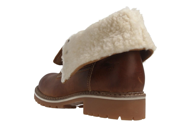 Mustang Shoes Boots in Übergrößen Braun 2837-609-307 große Damenschuhe – Bild 3