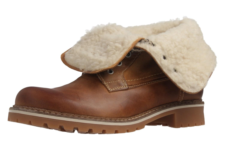 Mustang Shoes Boots in Übergrößen Braun 2837-609-307 große Damenschuhe – Bild 1