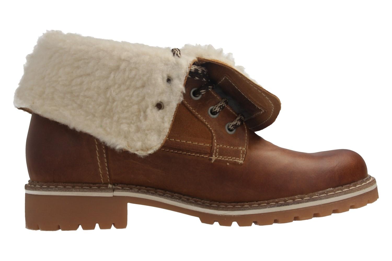 Mustang Shoes Boots in Übergrößen Braun 2837-609-307 große Damenschuhe – Bild 5
