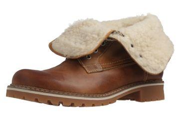 Mustang Shoes Boots in Übergrößen Braun 2837-609-307 große Damenschuhe