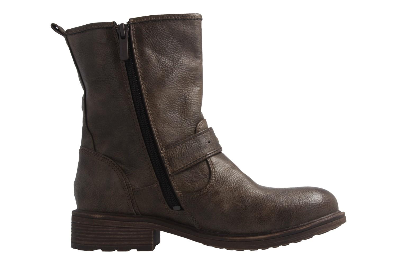 Mustang Shoes Stiefel in Übergrößen Braun 1264-602-306 große Damenschuhe – Bild 4