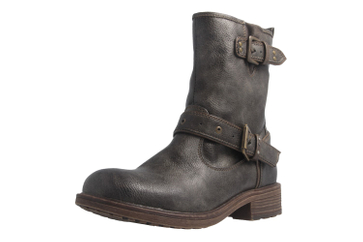 Mustang Shoes Stiefel in Übergrößen Grau 1264-602-20 große Damenschuhe – Bild 1