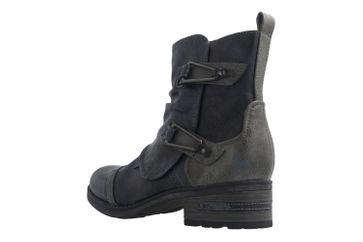 Mustang Shoes Boots in Übergrößen Blau 1229-604-820 große Damenschuhe – Bild 2