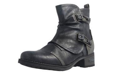 Mustang Shoes Boots in Übergrößen Blau 1229-604-820 große Damenschuhe – Bild 1