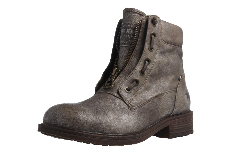 MUSTANG - Damen Boots - Gold Schuhe in Übergrößen – Bild 1