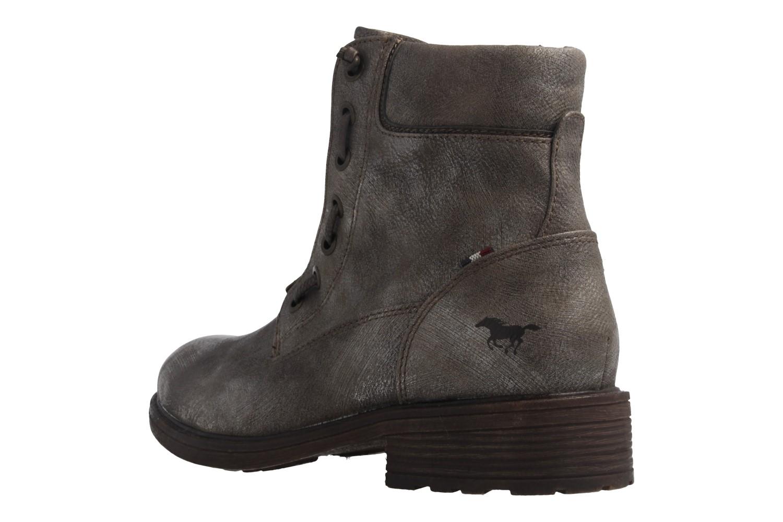Mustang Shoes Boots in Übergrößen Gold 1264-605-258 große Damenschuhe – Bild 2