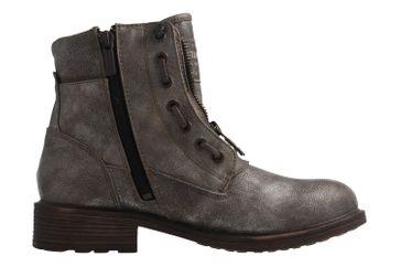 MUSTANG - Damen Boots - Gold Schuhe in Übergrößen – Bild 4