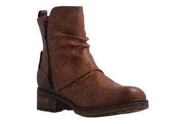 MUSTANG - Damen Boots - Braun Schuhe in Übergrößen – Bild 5