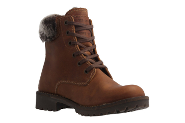 Mustang Shoes Boots in Übergrößen Braun 2837-605-301 große Damenschuhe – Bild 5