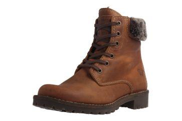 MUSTANG - Damen Boots - Braun Schuhe in Übergrößen – Bild 1