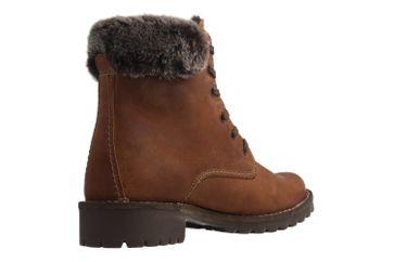Mustang Shoes Boots in Übergrößen Braun 2837-605-301 große Damenschuhe – Bild 3