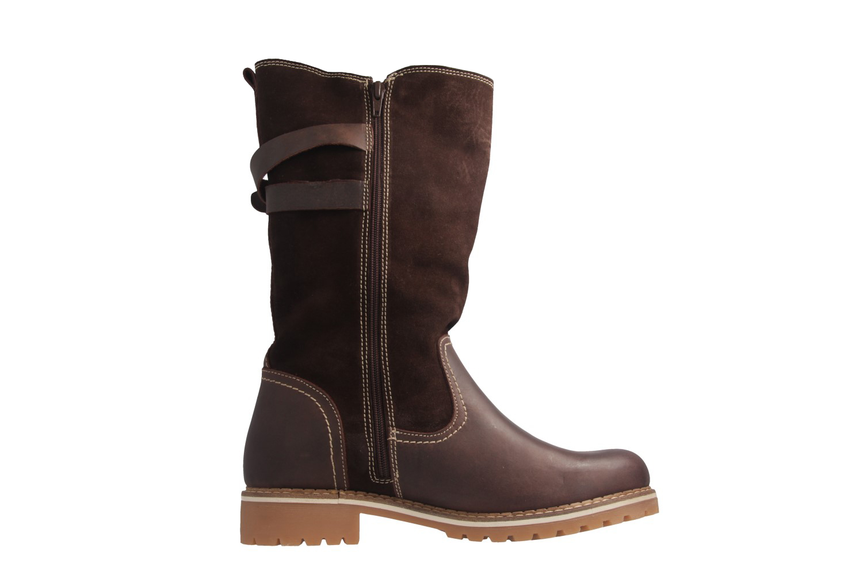 MUSTANG - Damen Stiefel - Braun Schuhe in Übergrößen – Bild 5
