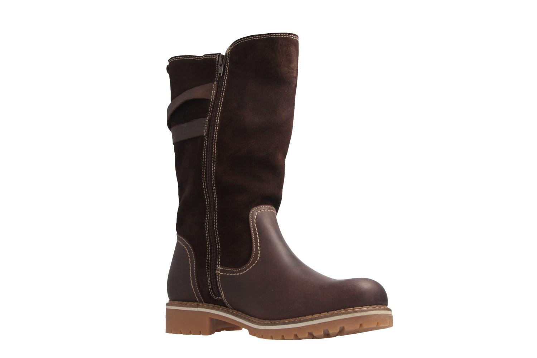 Mustang Shoes Stiefel in Übergrößen Braun 2837-610-32 große Damenschuhe – Bild 6