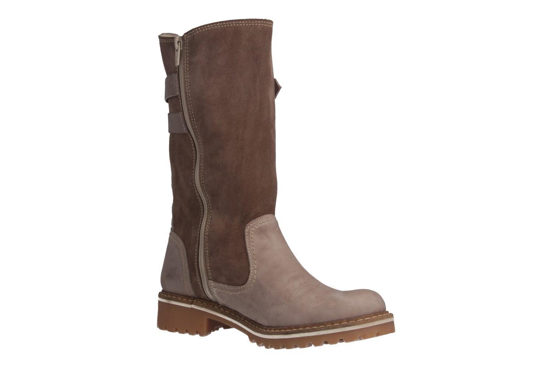 MUSTANG - Damen Stiefel - Taupe Schuhe in Übergrößen – Bild 5