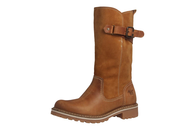 Mustang Shoes Stiefel in Übergrößen Braun 2837-610-307 große Damenschuhe – Bild 1