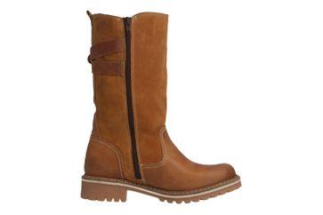 MUSTANG - Damen Stiefel - Cognac Schuhe in Übergrößen – Bild 4