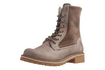 MUSTANG - Damen Boots - Taupe Schuhe in Übergrößen – Bild 1