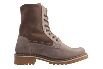 MUSTANG - Damen Boots - Taupe Schuhe in Übergrößen – Bild 4