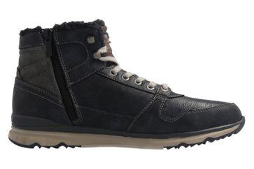 Mustang Shoes Boots in Übergrößen Blau 4095-601-820 große Herrenschuhe – Bild 4
