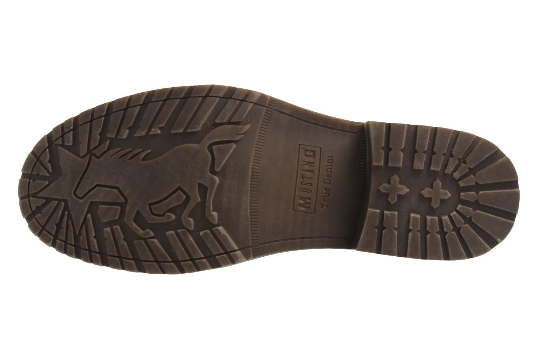 MUSTANG - Herren Boots - Dunkelgrau Schuhe in Übergrößen – Bild 6