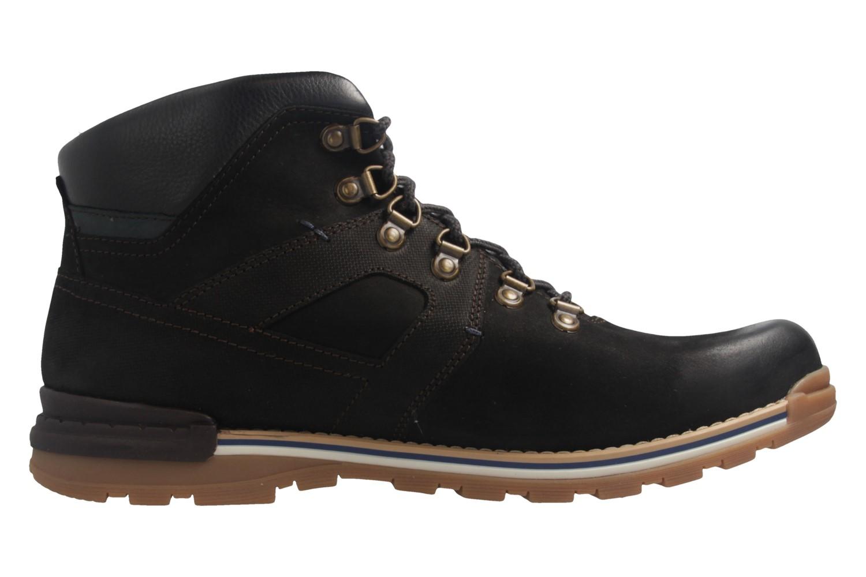FRETZ MEN - Herren  Gore Tex Boots - Noir Cooper - Schwarz Schuhe in Übergrößen – Bild 5