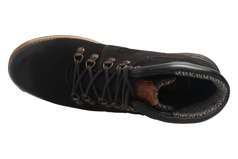FRETZ MEN - Herren  Gore Tex Boots - Noir Cooper - Schwarz Schuhe in Übergrößen – Bild 7
