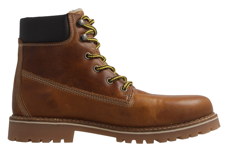Mustang Shoes Boots in Übergrößen Braun 4873-602-307 große Herrenschuhe – Bild 4