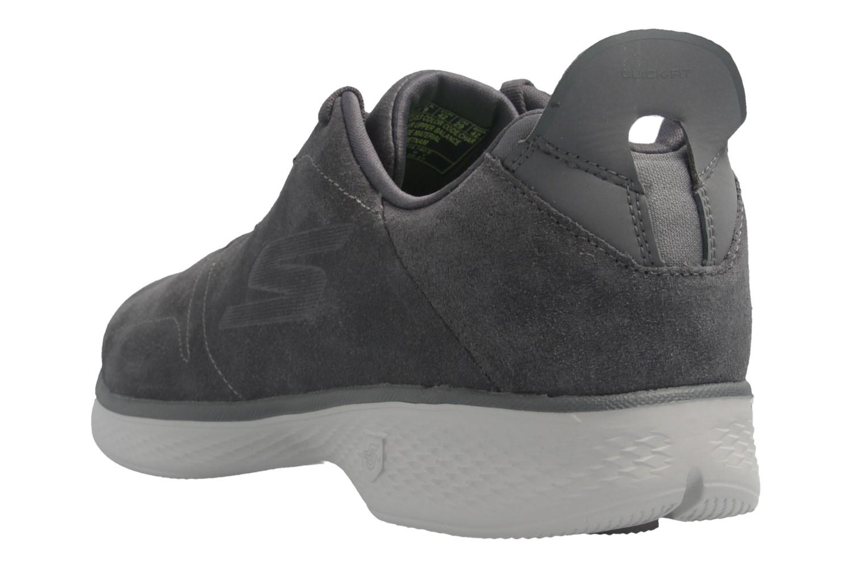SKECHERS - Gratitude - Damen Halbschuhe - Grau Schuhe in Übergrößen – Bild 3
