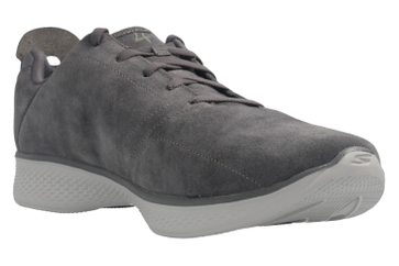 SKECHERS - Gratitude - Damen Halbschuhe - Grau Schuhe in Übergrößen – Bild 6