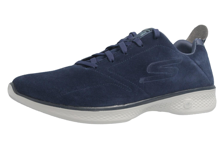 SKECHERS - Gratitude - Damen Halbschuhe - Blau Schuhe in Übergrößen – Bild 1