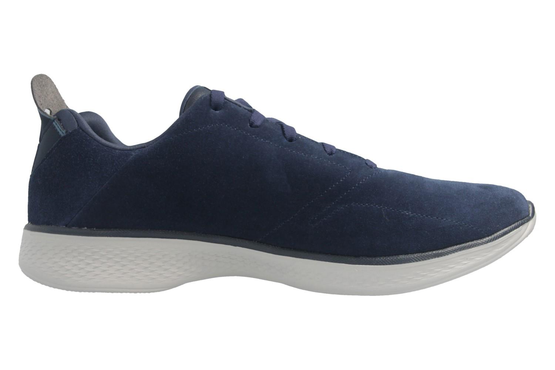 SKECHERS - Gratitude - Damen Halbschuhe - Blau Schuhe in Übergrößen – Bild 5