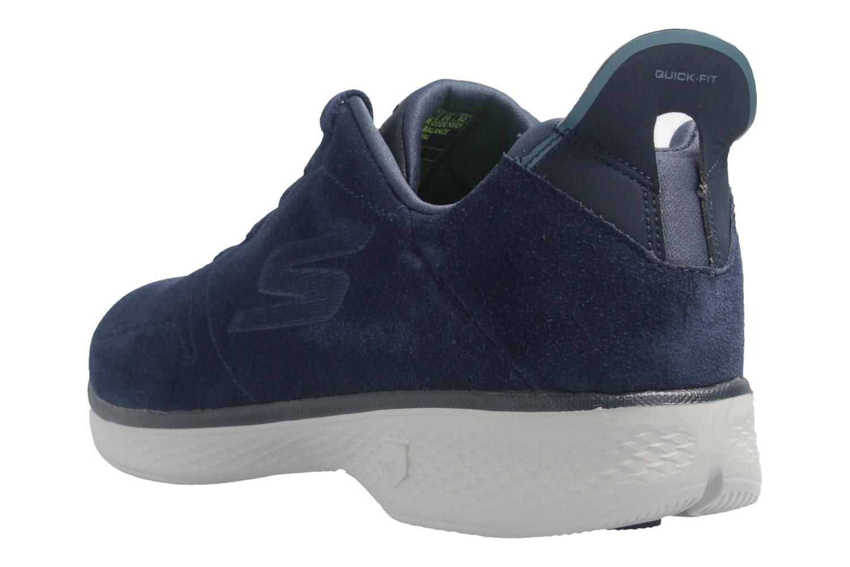 SKECHERS - Gratitude - Damen Halbschuhe - Blau Schuhe in Übergrößen – Bild 3