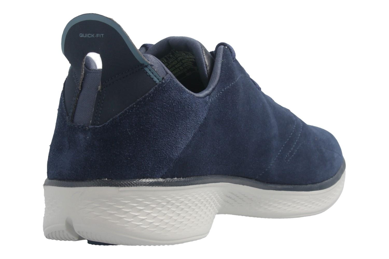 SKECHERS - Gratitude - Damen Halbschuhe - Blau Schuhe in Übergrößen – Bild 4