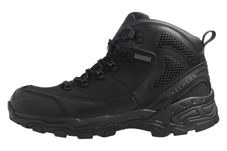 SKECHERS - Pedley-ASTER - Herren Boots - Schwarz Schuhe in Übergrößen – Bild 2