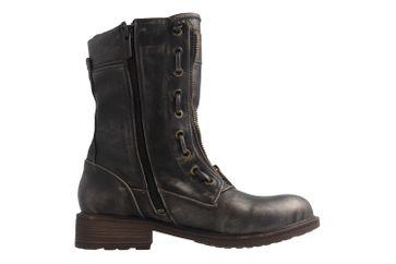 MUSTANG - Damen Stiefel - Dunkelgrau Schuhe in Übergrößen – Bild 4