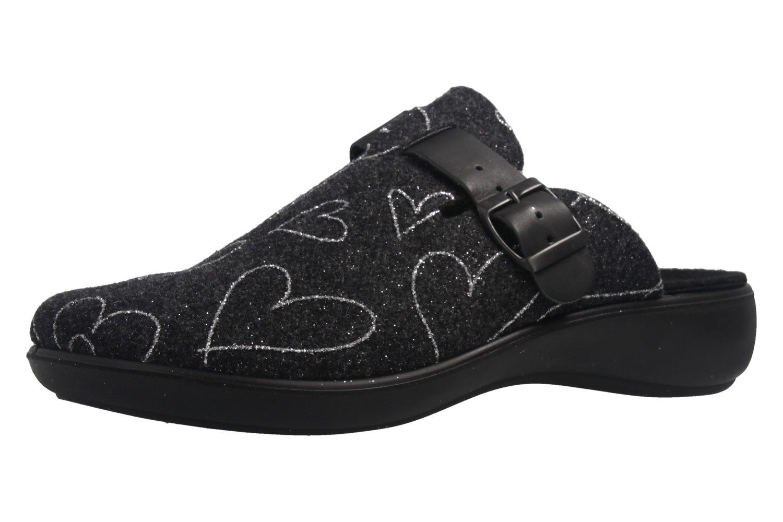 ROMIKA - Ibiza Home 322 - Damen Hausschuhe - Anthrazit Schuhe in Übergrößen – Bild 1