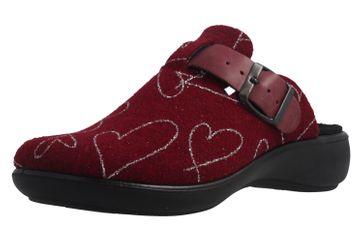ROMIKA - Ibiza Home 322 - Damen Hausschuhe - Bordo Schuhe in Übergrößen