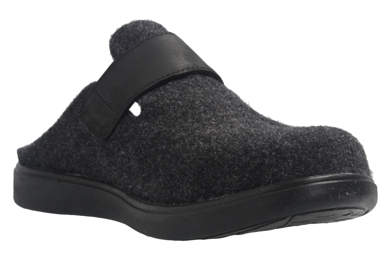 ROMIKA - Gomera 03 - Damen Hausschuhe - Schwarz Schuhe in Übergrößen – Bild 6